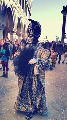Venetian Masks during Vincenzo Forgione making of La Bella Italia in Venice, Italy.