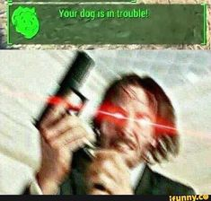 Anybody who harms Dogmeat dies right then and there.