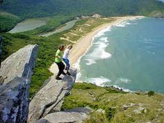 Trilha até a Praia da Lagoinha do Leste: Florianópolis - Viagens Cinematográficas