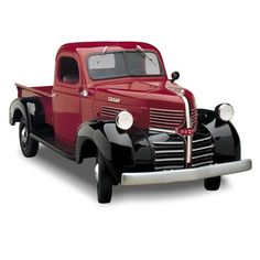 1941 - In 1941, the American workforce longed for a rock-solid, dependable light truck that would earn its keep year-in and year-out and that's just what they got. This stunning replica is a tribute to one of the most fondly remembered trucks of all time.