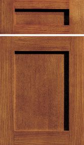 Craftsman Panel from dura supreme. just need a darker stain
