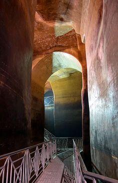 Matera palombaro lungo (epic ancient cistern)