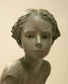 """French artist Berit Hildre is a sculptor and teacher who has written """"Modeling Heads and Faces In Clay"""". Sculptures Céramiques, Sculpture Clay, Human Sculpture, Art Du Monde, Drawn Art, Wassily Kandinsky, Ceramic Art, Amazing Art, Sculpting"""