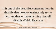 Ralph Waldo Emerson Quotes About Life - 42331