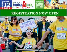 Registration is NOW open. Visit AbilityFirststrollandroll.kintera.org