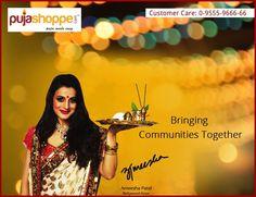 We bring Communities Together. We bring people together!!  #PujaShoppe  #Hindu #India #Festival #Kolkata