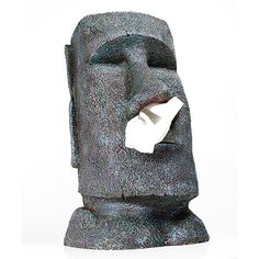Big Moai Tissue box £24.99 from QWERKITY