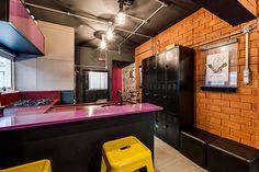 Apartamento pequeno projetado por um estudante de arquitetura com poucos recursos - limaonagua