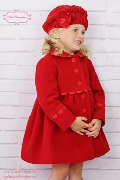 Bijan Kids Red Faux Fur Dress & Coat - Toddler & Girls | Faux fur ...