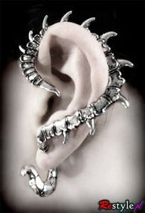 Dragon spine ear cuff by ReStyle.pl (website is in Poland, but written in English)