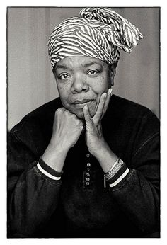 Maya Angelou remains one of my favorite authors and poets.