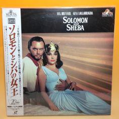 Solomon and Sheba (1959) PILF-2350 LaserDisc LD Laser Disc NTSC OBI Japan EA013