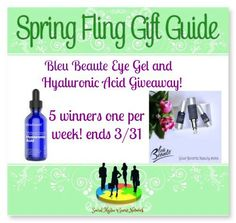 Bleu Beaute Skin Care Giveaway! 3/31 ~ Tales From A Southern Mom
