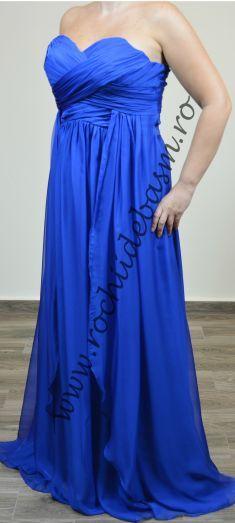 Rochie de seara albastra #rochiidesearaalbastre #rochiidesearafaraaplicatii #blueeveningdresses