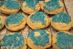 Copycat potbelly sugar cookie - co-worker made these and they were yummy!