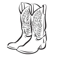 Cowboy Boot Clip Art Free | 32 images of cowboy boots free cliparts that you can download to you ...