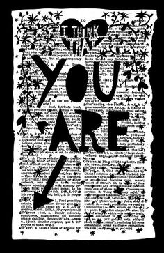 Rob Ryan I think that you are gorgeous Paper Cut Journal Inspiration, Creative Inspiration, Journal Ideas, Book Crafts, Paper Crafts, Rob Ryan, Collages, Collage Art, Drawn Art