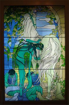 Lady Godiva and horse