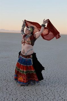 Something Tribal This Way Comes -   Wendy Allen of FatChanceBelly Dance  ATS, American Tribal Style Belly Dance