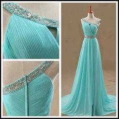 Turquoise dress wit sparkle