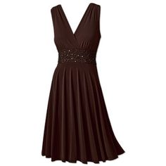 brown knit dress - only $30!