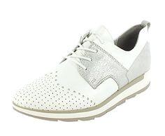 Marco Tozzi Halbschuhe Sneaker offwhite Gr. 37 - Mary jane halbschuhe (*Partner-Link)
