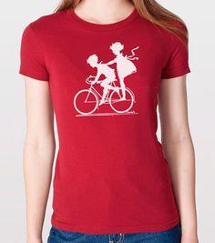 6bc8f5e69493 Vintage Graphic Children Biking T-shirt Womens Tshirt Cool Shirt Vintage  Graphic Tee Retro t