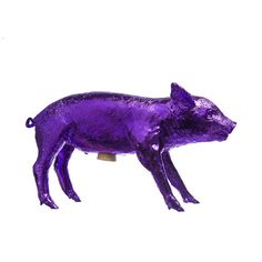 Piggy Bank Purple Chrome purple, areaware, harry allen