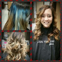 Before and after color