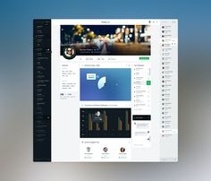 User Profile Page by Mani