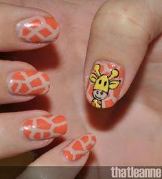 Nail Art Animals