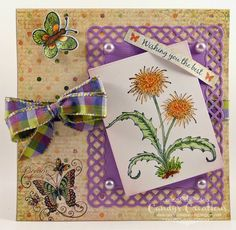 Dandelion Wishes Card by Candy S. - Cards and Paper Crafts at Splitcoaststampers