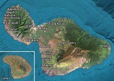 Hawaii Revealed - Maui Resort Map
