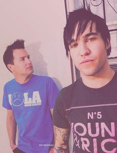 mark hoppus & pete wentz