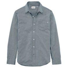 Timberland Men's Essential Button-Down Oxford Shirt Dark Navy