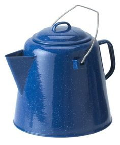 Pin it! :) Follow us :))  zCamping.com is your Camping Product Gallery ;) CLICK IMAGE TWICE for Pricing and Info :) SEE A LARGER SELECTION of  camping coffee & tea pots at  http://zcamping.com/category/camping-categories/camping-cooking-and-food/camping-coffee-and-tea-pots/ - hunting, camp coffee, camping tea pots, camping essentials, camping, camping gear - GSI Outdoors Coffee Boiler (Blue, 20-Cups) « zCamping.com
