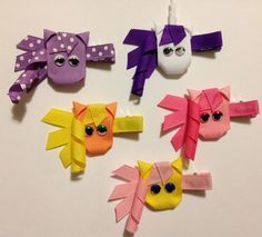 Little Pony Ribbon Sculpture Hair Clip CHOOSE by lilsassybugwear, $4.50