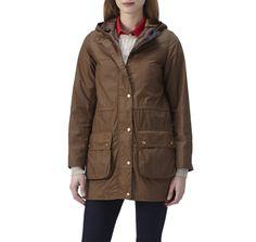 Ladies Durham Waxed Jacket | Barbour Lifestyle | Womens | EU Barbour