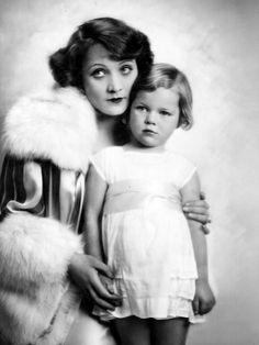 Marlene et sa fille Maria.