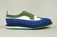 Thom Browne | Long Wing Leather Brogue