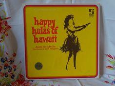 Vintae 1970's Happy Hulas of Hawaii Album Set by CoolFindsShoppe