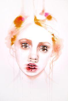 Monica Loya #art #portrait