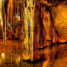Castellana caves. Bari, italy