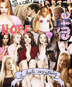 Discovered by rafael. Find images and videos about movie, mean girls and lindsay lohan on We Heart It - the app to get lost in what you love. Mean Girls Day, Mean Girls Movie, Guys And Girls, Girls Time, Pink Movies, Mean Girl Quotes, Teen Witch, Funny Phone Wallpaper, Retro Wallpaper