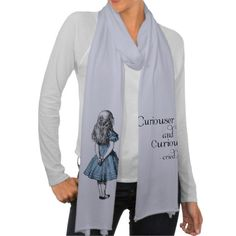 Alice in Wonderland Curiouser Scarf