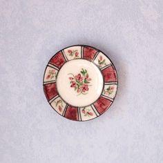 Miniature ceramic plate scale 112. Making handmade and painted by hand | Ceramic plates Miniatures and Dollhouse ideas & Miniature ceramic plate scale 1:12. Making handmade and painted by ...