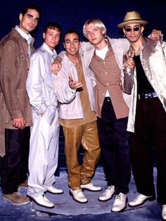 Old School: Backstreet Boys. So excited they are back!!! BSB ALL THE WAY!!!! <3