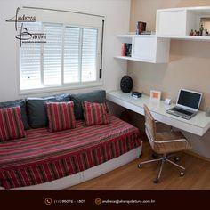 ara um ambiente multiuso transforme a cama em um sofá apenas com almofadas e colcha envelope! #decoracaodeinteriores #abarquiteturainteriores #sofacama #abarquitetura #ambientemultiuso #almofadas #quarto #quartosolteiro #arquitetura #designdeinterior