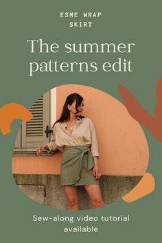 Check out our range of summer patterns available at www.tintofmintpatterns.com