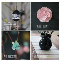 We love this DIY blog post. There are so many fun ideas for Easter decor!